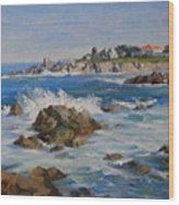 Monterey Bay Wood Print
