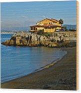 Monterey Bay Restaurant Wood Print