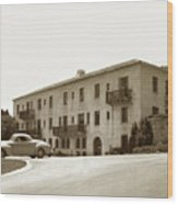 Monterey Hospital Was Built In 1930 At 576 Hartnell St, Monterey Wood Print