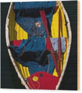 Monterey Skiff Wood Print