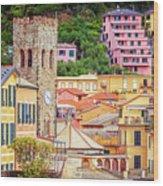 Monterosso Al Mare Cinque Terre Italy Wood Print