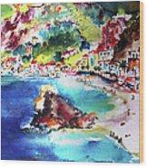 Monterosso  Cinque Terre Italy  Wood Print