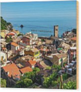 Monterosso In The Cinque Terre Wood Print