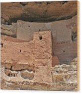 Montezuma Castle - Special In It's Own Way Wood Print