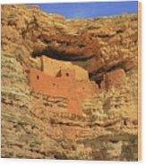 Montezuma Castle National Monument Wood Print