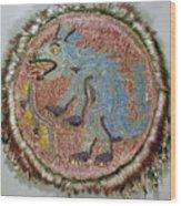 Montezuma II: Shield Wood Print
