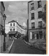 Montmarteparis France Wood Print