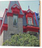Montreal 33 Wood Print