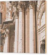 Montserrat Monastery Wood Print