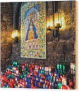 Montserrat Shrine Wood Print
