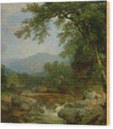 Monument Mountain - Berkshires Wood Print