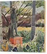 Monument Of A Forgotten War Wood Print