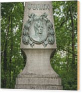 Monument Of Major Obrien In Jedlesee Vienna Wood Print