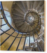 Monument Stairs Wood Print