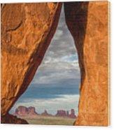 Monument Teardop Wood Print