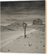 Monument Valley 6 Wood Print