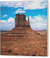 Monument Valley Monolith Wood Print