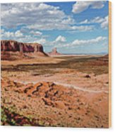 Monument Valley National Park Wood Print