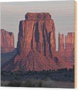 Monument Valley Sunrise 7288 Wood Print