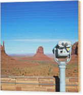 Monument Valley, Usa Wood Print