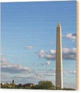 Monumental Obelisk Wood Print