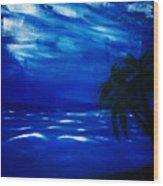 Moods Of The Sea Romantic Wood Print
