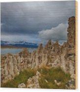 Moody Mono Lake Wood Print