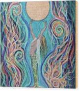 Moon Dance Wood Print