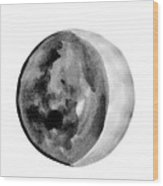 Moon Phase Wood Print