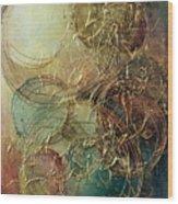 Moon Thread Wood Print
