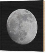 Moon1 Wood Print