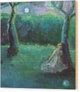 Moonbeam Wood Print