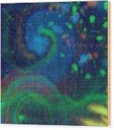 Moonbow Wood Print