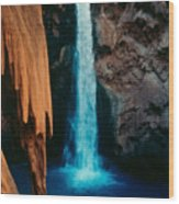 Mooney Falls Wood Print