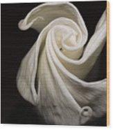 Moonflower Wood Print