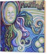 Moonfruit Wood Print
