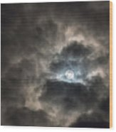 Moonglow Wood Print