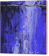 Moonlight Madness Wood Print
