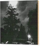 Moonlight On Philo Wood Print