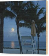 Moonlight Serenade Wood Print
