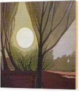 Moonlit Dream Wood Print