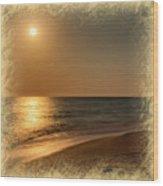 Moonscape 2 Wood Print