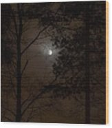 Moonshine 07 Wood Print