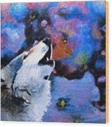 Moonsong Wood Print