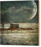 Moonstruck Wood Print