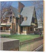 Moore-dugal House Wood Print