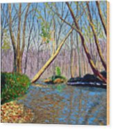 Mooresville 11 2 Wood Print