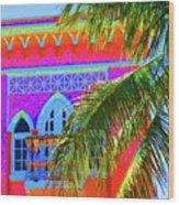Moorish Deco Wood Print