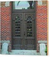 Moorish Door Wood Print