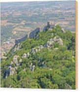 Moors Castle Aerial Wood Print